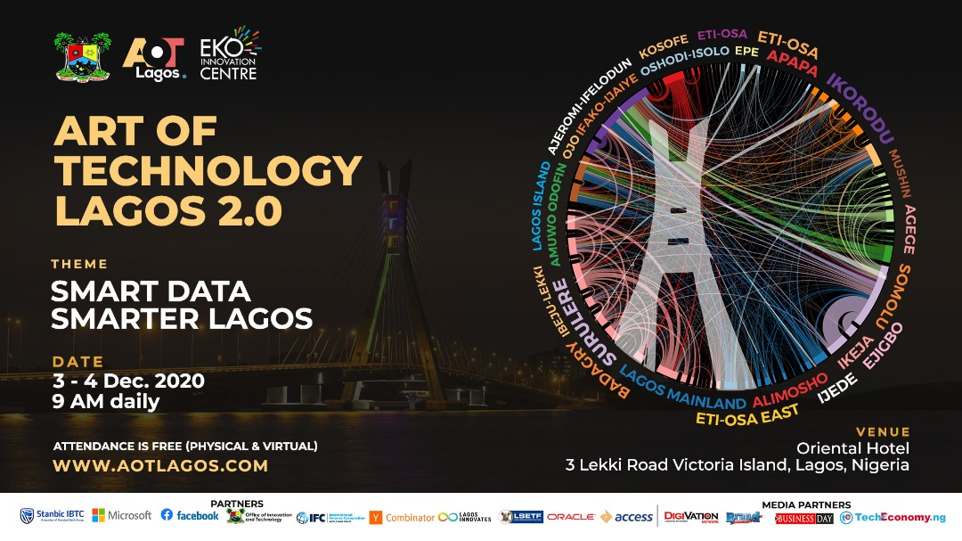 Lagos State, Eko Innovation Centre set to host Art of Technology Lagos 2.0