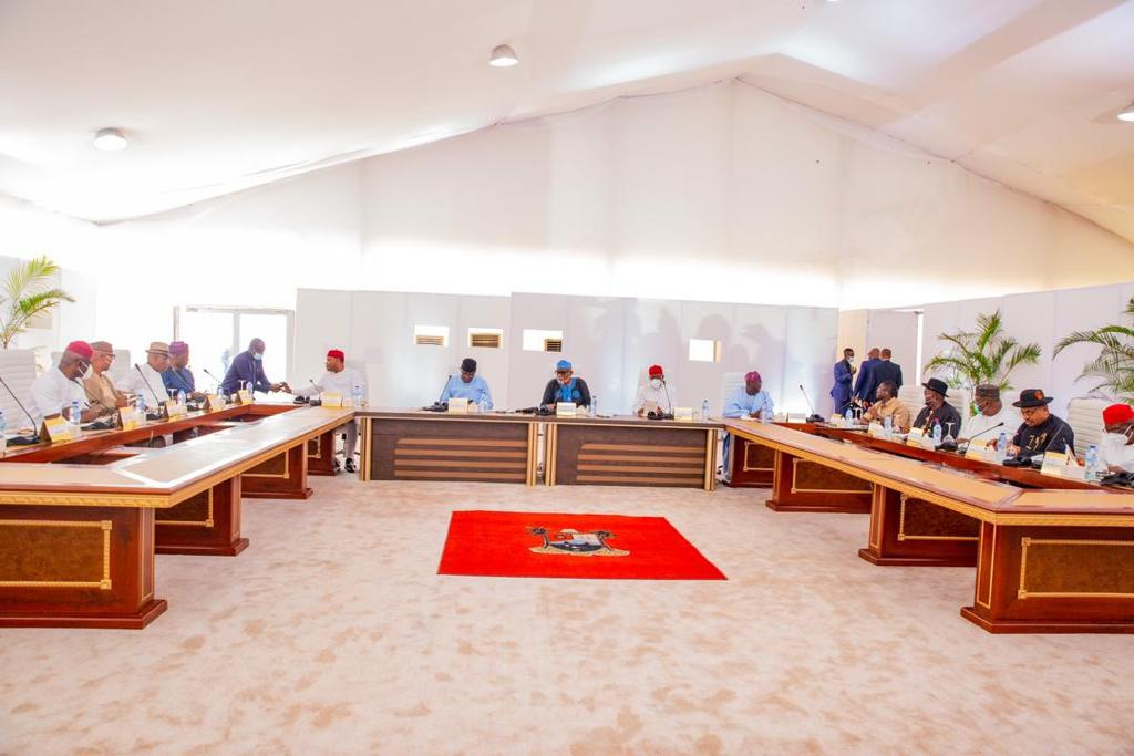 Southern Governors Demand Nigeria's Next President Must Emerge From The South